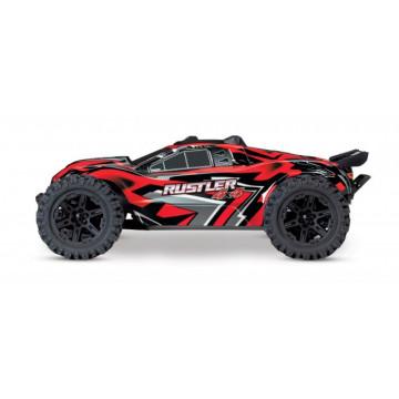 Automodel Traxxas Rustler 4x4 TQ XL-5 Brushed Waterproof RTR