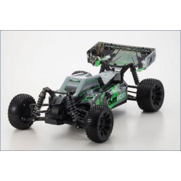 Kyosho Dirt Hog EP 4WD 1/10 RTR, culoare verde