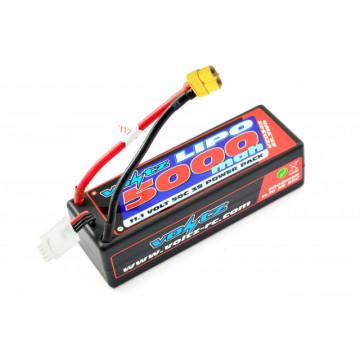 Acumulator Lipo 3s 5000 mAh 50C Voltz, conector XT60