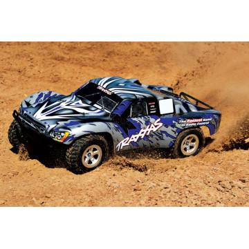 Automodel Traxxas Slash 2wd 58024 Albastru 2