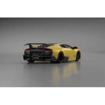 Automodel Kyosho Mini-Z Lamborghini Murcielago LP6704 MR-03W-MM BCS, culoare galbena