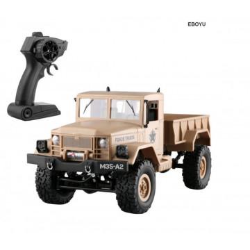Camion cu telecomanda Dodge M35 1/16 4x4 RTR, cu lumini