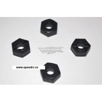 Hex-uri roti pentru VRX Dart XB 1/18 Brushed/Brushless