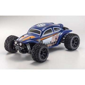 Kyosho Mad Bug 1/10 4WD VE RTR, culoare albastra