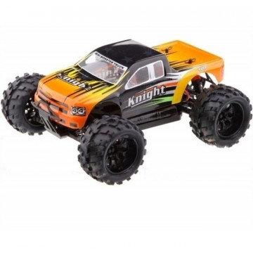 Masina cu telecomanda HSP Knight Monster Truck 1/18 RTR 2.4Ghz portocaliu