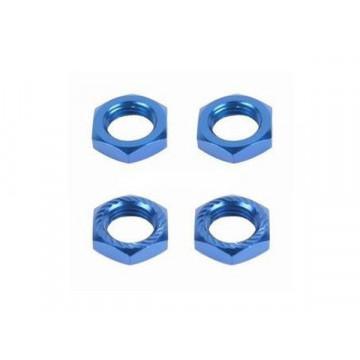 Piulite hexagonale pentru roti, culoare albastra- 4 buc
