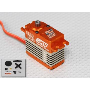 Servomecanism High Voltage Coreless Blue Bird BMS-35A, 35.5 kg/0.14s