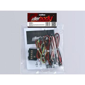 Sistem LED de iluminare cu control box Killerbody, (12 led-uri)