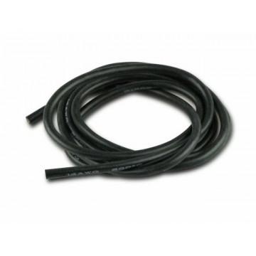 Cablu electric cu invelis siliconic 14 AWG, 1m , Negru