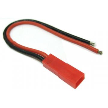 Cablu c cu conector mama JST - 10 cm 22 awg