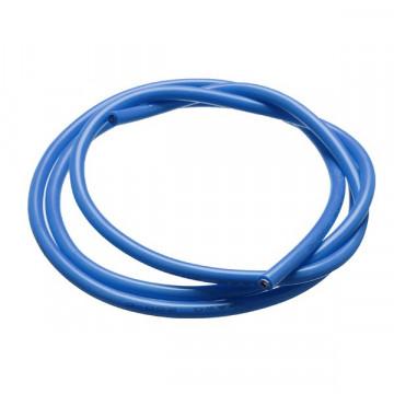 Cablu de alimentare electrica cu invelis siliconic 3.3mm/12 AWG 1m - Albastru