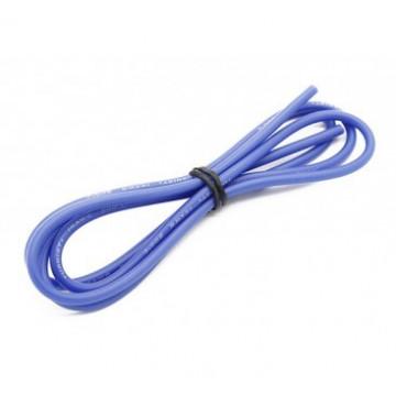 Cablu electric cu invelis siliconic pur 14 AWG  Etronix - albastru, 1m