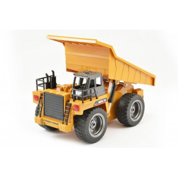 Camion basculanta cu telecomanda HUINA, scara 1/12, 2.4Ghz -6 Functii