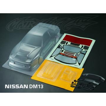 Caroserie Matrixline Nissan DM13 Clear body cu accesorii