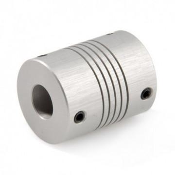 Cuplaj elastic de forta adaptor de la D3.17 la D4 mm
