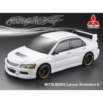 Caroserie Matrixline Mitsubishi Lancer Evo9 Clear body cu accesorii