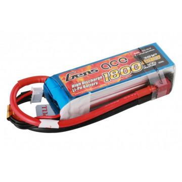 Acumulator LiPo GENS ACE 7.4 V/ 1800 mA/ 40C