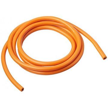 Cablu electric cu invelis siliconic pur, 12 Awg - 1m lungime Portocaliu