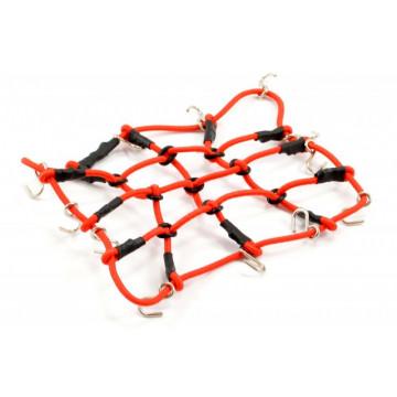 Plasa elastica portbagaj cu carlige, dimensiuni L130MM X l110MM , pentru crawler scale 1/10