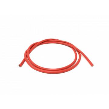 Cablu de alimentare electrica cu invelis siliconic 12 AWG 1m - Rosu