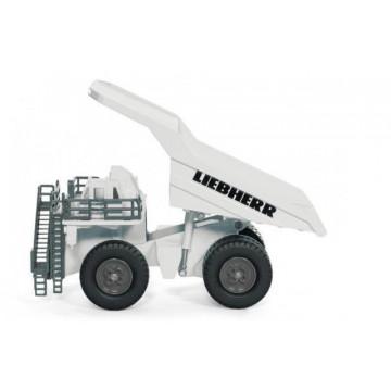 Macheta camion basculanta Liebherr SIKU