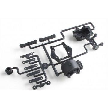Set bulkhead fata + toe block pentru Lazer ZX-5