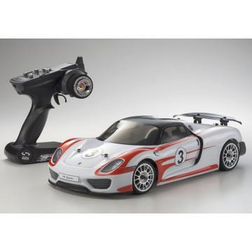 Automodel electric Rally 1/10 KYOSHO EP FAZER VE Porche 918 Spyder Weissach