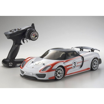 Automodel electric Rally 1/10 KYOSHO EP FAZER VE Porcshe 918 Spyder Weissach