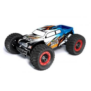 Automodel Thunder Tiger MT4 G3 1:8 4WD Brushless Monster Truck 2000KV RTR 2.4G, culoare albastra