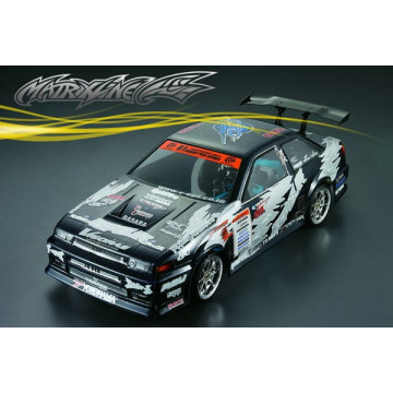 Caroserie automodele 1/10 drift si touring, model Nissan DR86 Matrixline, cu Accesorii - 190mm