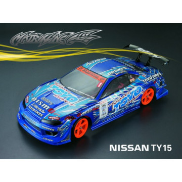 Caroserie Matrixline Nissan TY15 Clear body cu accesorii