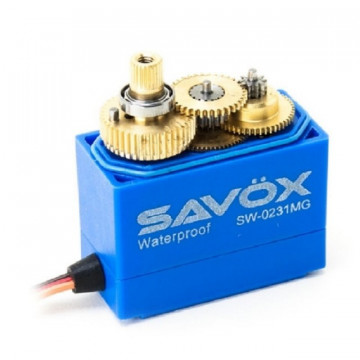 Servo digital waterproof SAVOX SW-0231MG 15kg/0.17s@6V