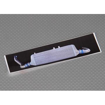 Detaliu autoadeziv aspect de cooler pentru automodele
