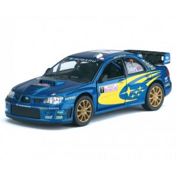 Macheta Subaru Impreza, seria Street Racers, scara 1:37 Kinsmart