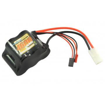 Acumulator Receptie Voltz NiMH 4600mAh 6V pentru modele 1/5