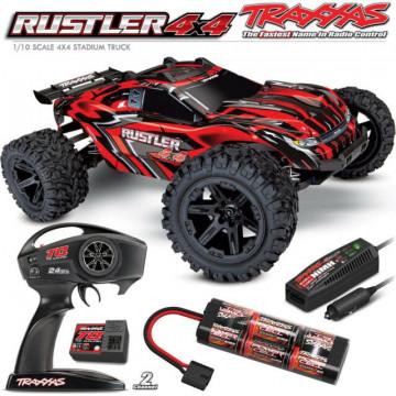 Masina cu telecomanda Traxxas Rustler 4x4 RTR 3
