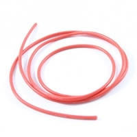 Cablu electric cu invelis siliconic pur, 16 AWG, 1m , Rosu