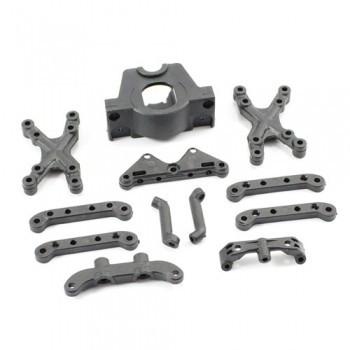 Set piese suspensie+tower+motor mount  pentru automodelul FTX Surge