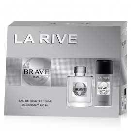 Set cadou La Rive Brave man - apa de toaleta + deodorant