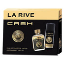 La Rive Cash for men Set cadou (edt 100 ml si deodorant 150 ml)