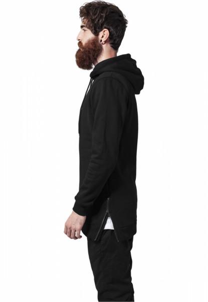 Long Side Zipped Hoody