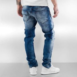 2Y Patches Jeans Light Blue