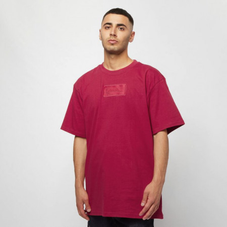 Karl Kani T-shirt Small Signature Box Tee dark red