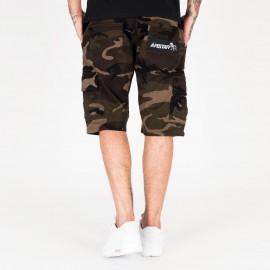 Amstaff Asutan Denim Shorts - camouflage