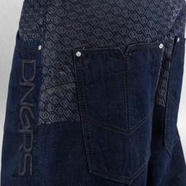 Dangerous DNGRS Logo Baggy Jeans Rinse Indigo*