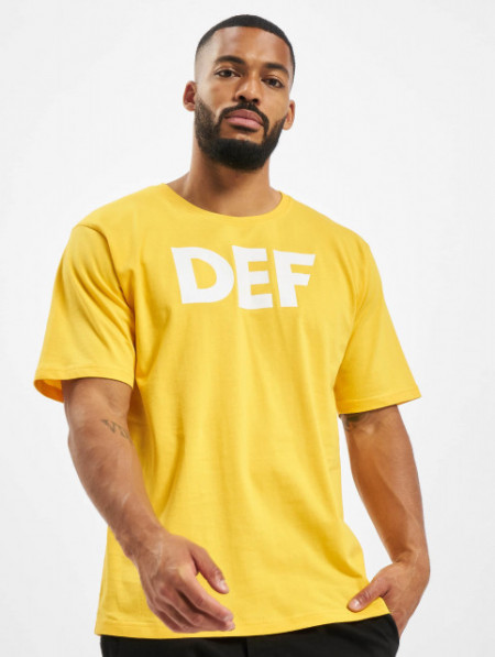 DEF / T-Shirt Her in yellow