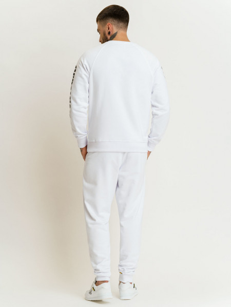 Amstaff Logo 2.0 Sweatpants - white/black