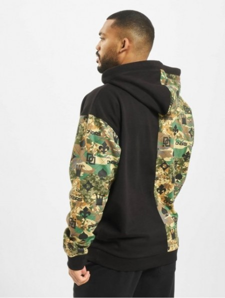 Dangerous DNGRS Half Crown & King Hoody Camouflage/Black