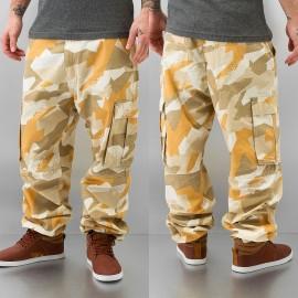 Dangerous DNGRS Ultimate Cargo Pants Beige Camouflage*