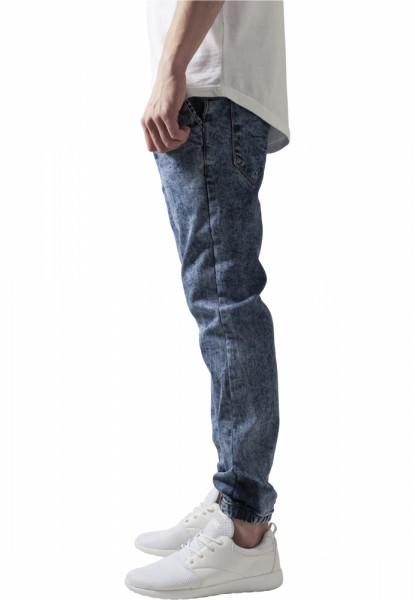 Stretch Denim Jogging Pants